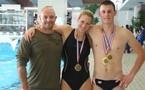 Titres nationaux et organisation des championnats de l'Aude pour le club de natation