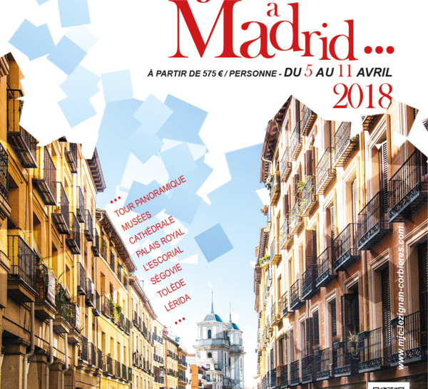 Du 5 au 11 avril 2018 >> Voyage à Madrid