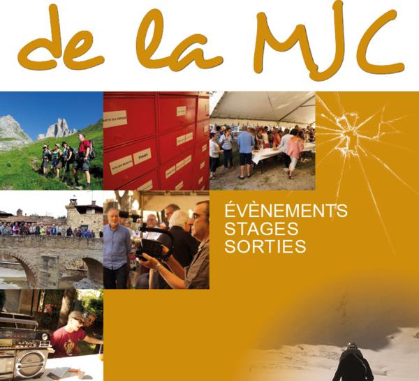 Stages, sorties, évènements : Les Rendez-Vous de la MJC >> Janvier à avril 2019