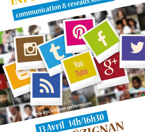 SAMEDI 20 AVRIL 2019 >> INFORMATIQUE : communication & réseaux sociaux