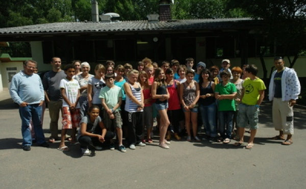 Camp ados 2011 à Lauterbach