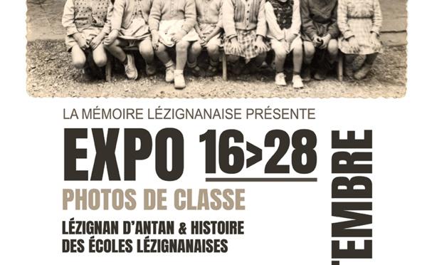 """EXPO PHOTOS """"Les écoles lézignanaises"""" >> du 16 au 28 septembre"""
