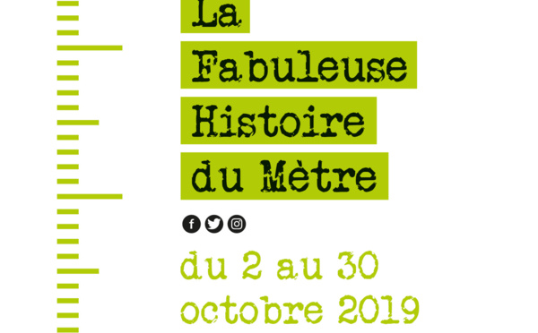 """EXPO CONFERENCE """"LA FABULEUSE  HISTOIRE DU MÈTRE"""" >> du 2 au 30 octobre"""