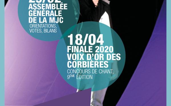 Stages, sorties, évènements : Les Rendez-Vous de la MJC >> Janvier à avril 2020
