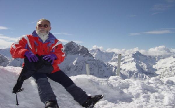PORTRAIT de ... Gérard BAUZA, bénévole responsable du Ski Club
