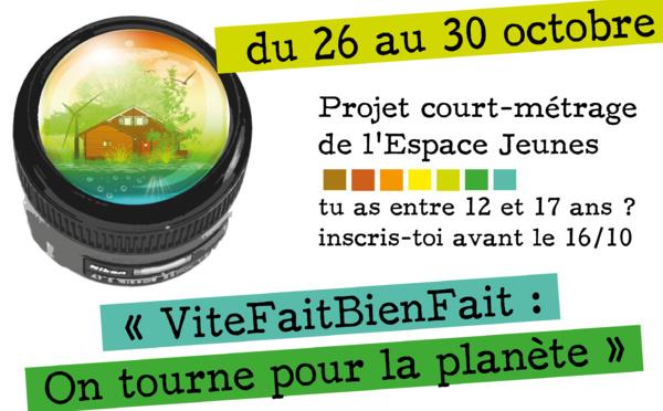 Tourne pour ta planète, du 26 au 30 octobre
