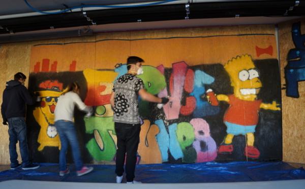PORTRAIT de ... Camille CASTEIGNAU, responsable des clubs Graff' et Hip hop